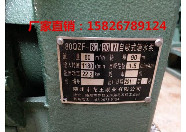 随州龙王泵业|80QZ60/90水泵|6